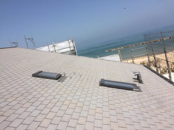 Impermeabilizzazione tetto con Tegole Bituminose