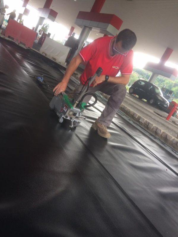 Impermeabilizzazione con manti sintetici